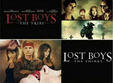 the lost boys the tribe the thirst corey feldman vampires the smokey shelter movie review podcast