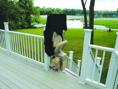 Elite Outdoor Straight Stairlift