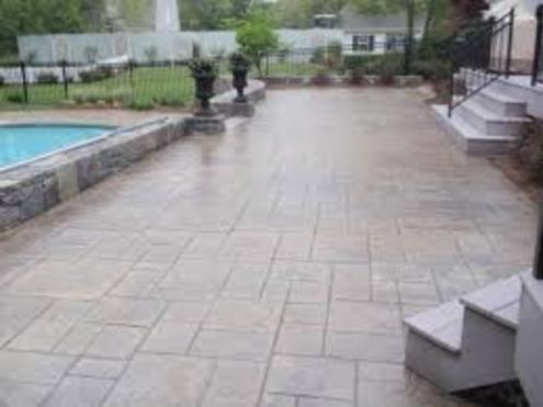 STAMPED CONCRETE PATIO CONTRACTOR SERVICE PARADISE NEVADA