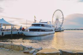 DC Yacht Rental Golden Knot National Elite