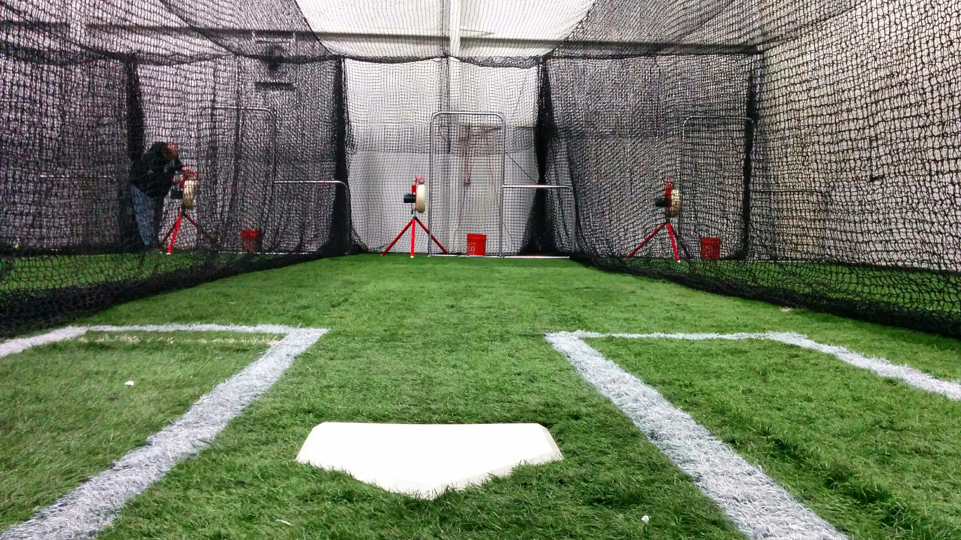Batter Up Training Center - Backyard batter