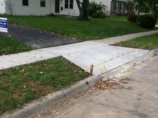 Leading Sidewalk Contractor Sidewalk Repair Services and cost in North Las Vegas Nevada | McCarran Handyman Services