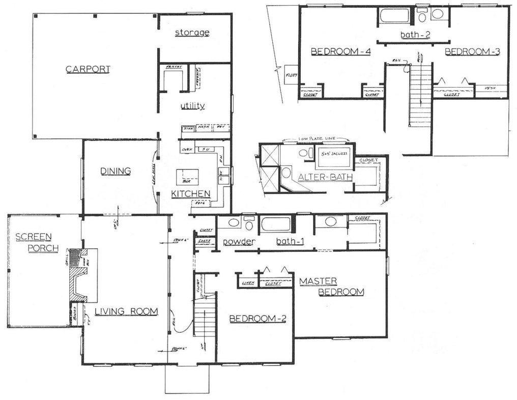 Simple Architecture Blueprints services