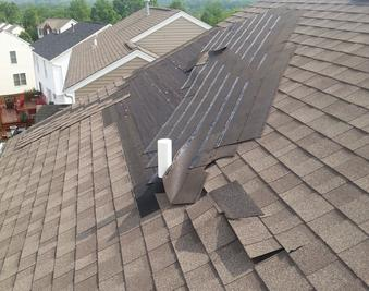 WIND DAMAGE ROOF LOUISVILLE