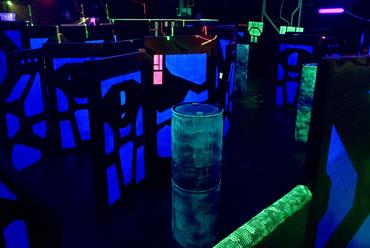 Laser Tag Arena laser battle