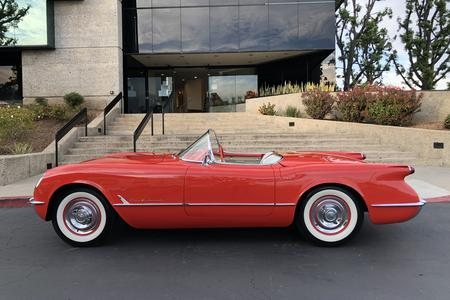 1955 Chevrolet Corvette 2dr Roadster V8 for sale at Motor Car Company in San Diego California