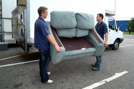 Affordable Sleeper Sofa Removal Services In Lincoln | LNK Junk Removal
