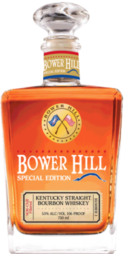 Bower Hill Special Edition Non-Chill Filtered Bourbon Whiskey