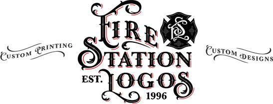Fire Station Logos Wall Of Flame Fire Station Fire