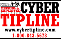 cyber tip line logo and link