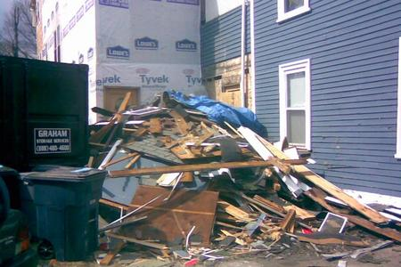 Building Material Removal Post Construction Debris Removal Service in Lincoln NE | LNK Junk Removal