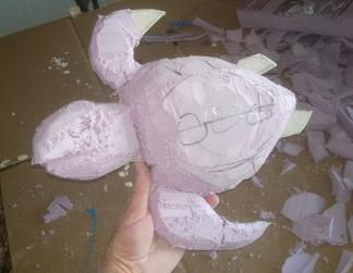 DIY Outdoor Paper Mache Nautical Sea Turtle Shaped Bird House. Check out our other Nautical and Beach Decor DIY projects. www.DIYeasycrafts.com