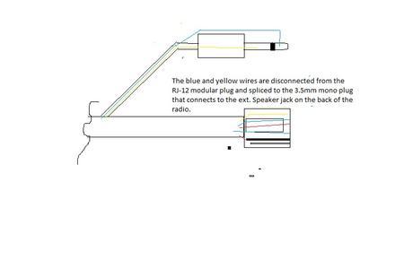 yaesu headset adaptor yaesu ptt wiring diagram
