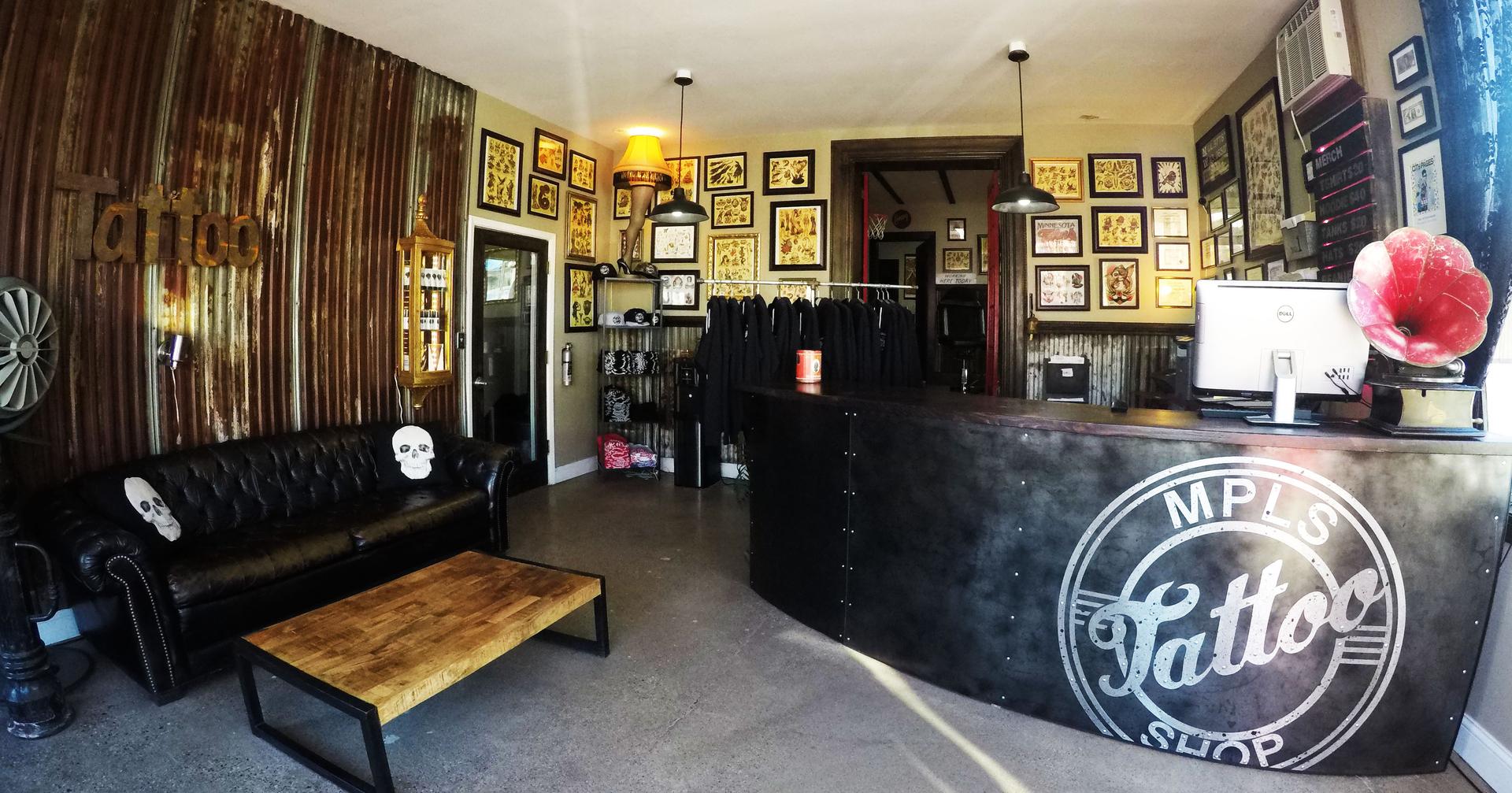 Minneapolis Tattoo Shop Contact Us