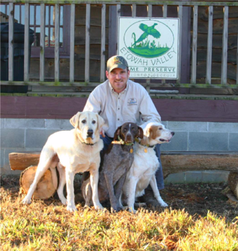Manager & Guide: Alex Becker & his dogs Woody, Rocky & Katy