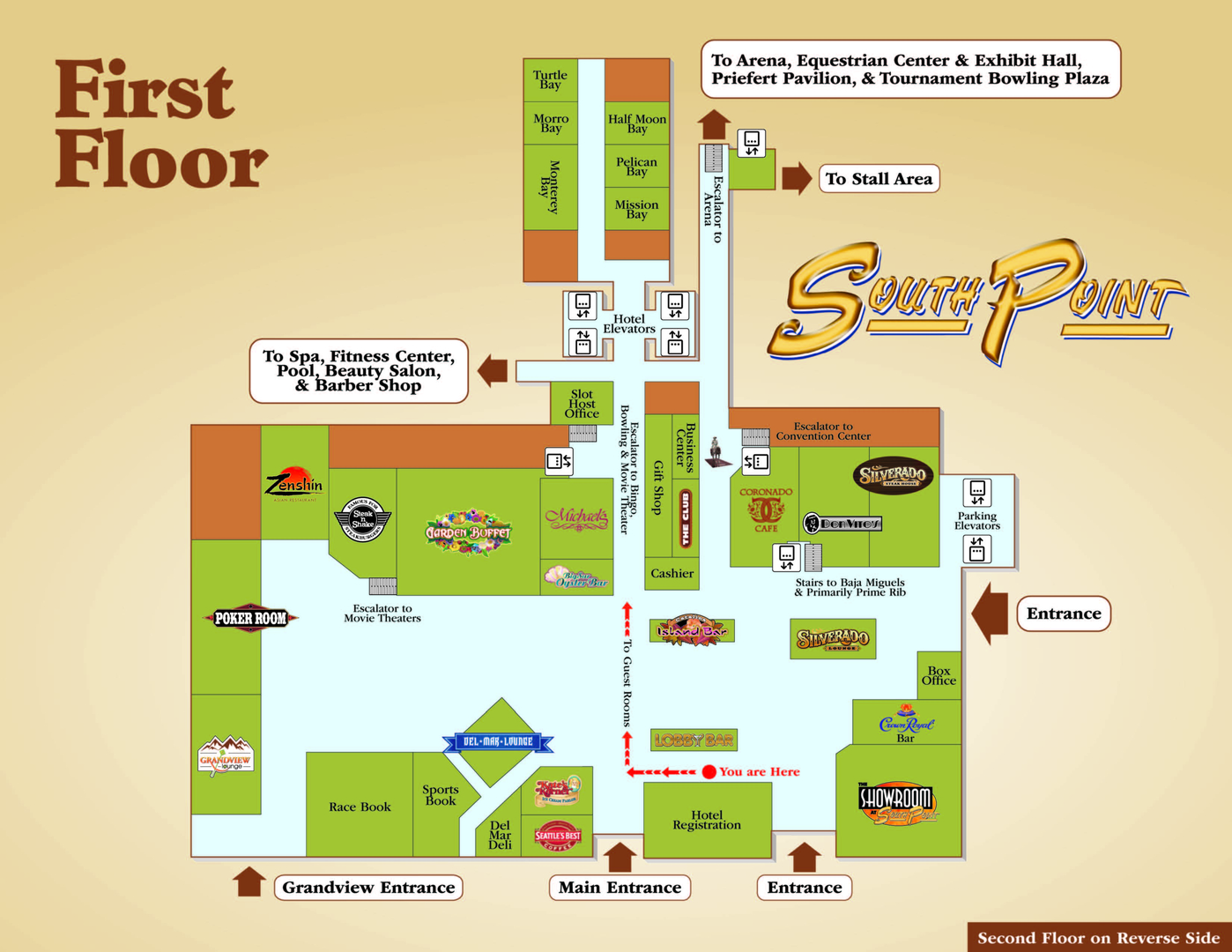 Maps Of Southpoint