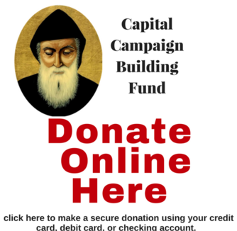 click here to donate online to St. Sharbel Church Building Fund