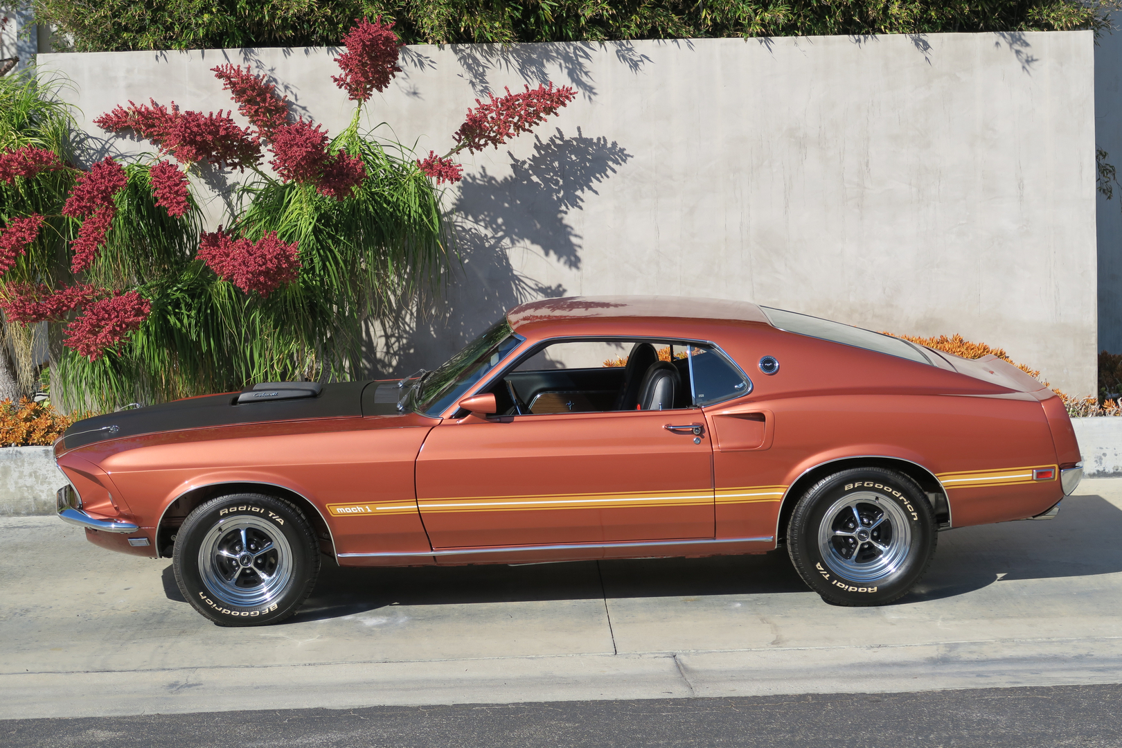 1969 Ford Mustang Mach 1 428 Super Cobra Jet