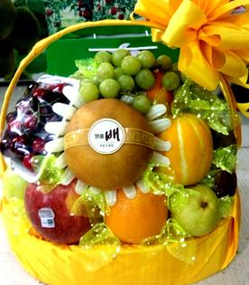 giỏ hoa quả thắp hương tế lễ đẹp tại Hà Nội