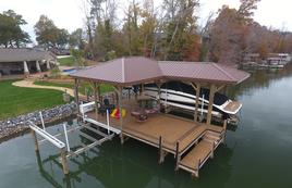 Lake Wylie Docks Photo Gallery