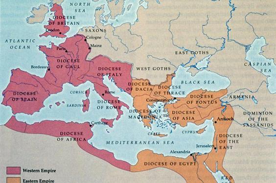 Maps of the Roman Empire