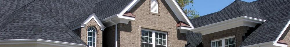image of new brick home