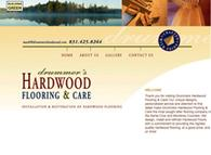 Hardwood Flooring Web Design