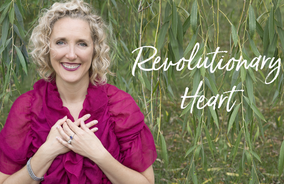 "Podcast Interview with Joni Advent Maher of ""Revolutionary Heart"""