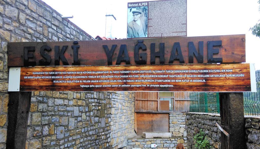 Bayır Köyü eski yağhane