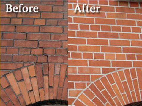 Brick Tuck Pointing