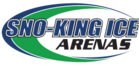 Son-King Arenas logo with blue and black text and green design.