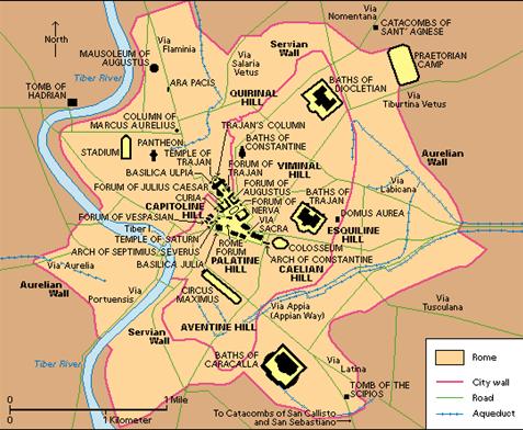 Ancient City Maps