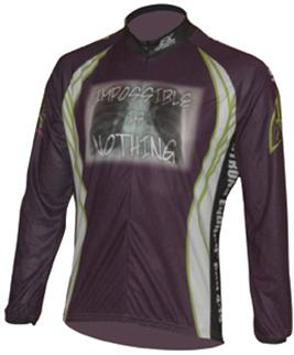 custom long sleeve bicycle jersey