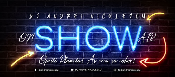 vlog, dj andrei niculescu, broadcast show, on air radio station, opriti planeta, emisiune online, show online, entertainment, divertisment, good vibes, positive vibes, music, dj mix, live mixing, interview, interviu, radio, dj romania, dj gig, voiceover, djing, voice over, voice radio, dj set