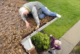 Gutter Cleaning Safety