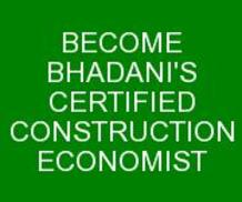 BHADANIS CONSTRUCTION ECONOMIST COURSE IN DELHI INDIA KOLKATA GHAZIABAD UTTAR PRADESH