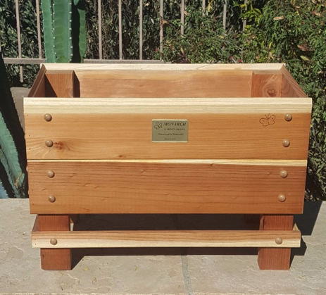 "MINI HERB BOX 24"" x 12"" 10"" deep 3 - 6 herb capacity $90.00"