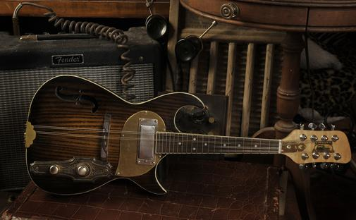 Electric Mandolin made by Postal Guitars