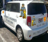 Marked Locksmith Las Vegas vehicles