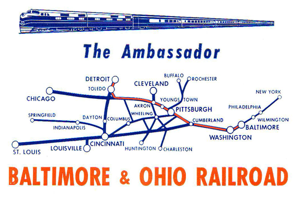 The route of the Ambassador