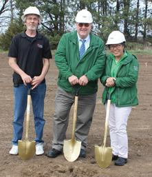 Groundbreaking ceremony 4/13/17