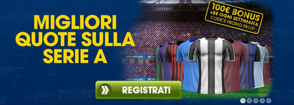REGISTRAZIONE A WILLIAM HILL