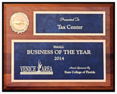 Tax Center Business Of The Year