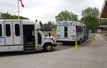 Wheelchair Accessible Buses, Brodie Chairs, Power Chairs, Mi-Buses can traport 3 - 6 wheelchairs, Nursing Home Charter, 12-15 Passenger Bus, Mini Bus, Disabled Transportation Services, Handicapped Transit