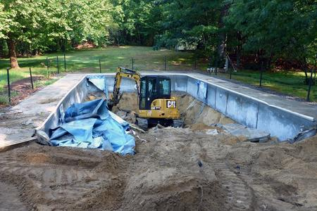 Local Pool Demolition services in Lincoln NE | LNK Junk Removal