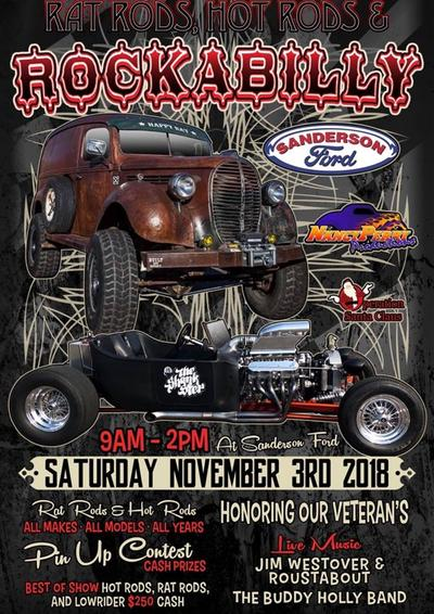 Events - Sanderson ford car show