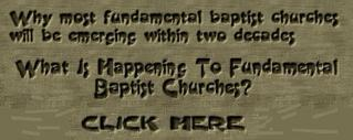 What is happening to Fundamental Baptist Churches?
