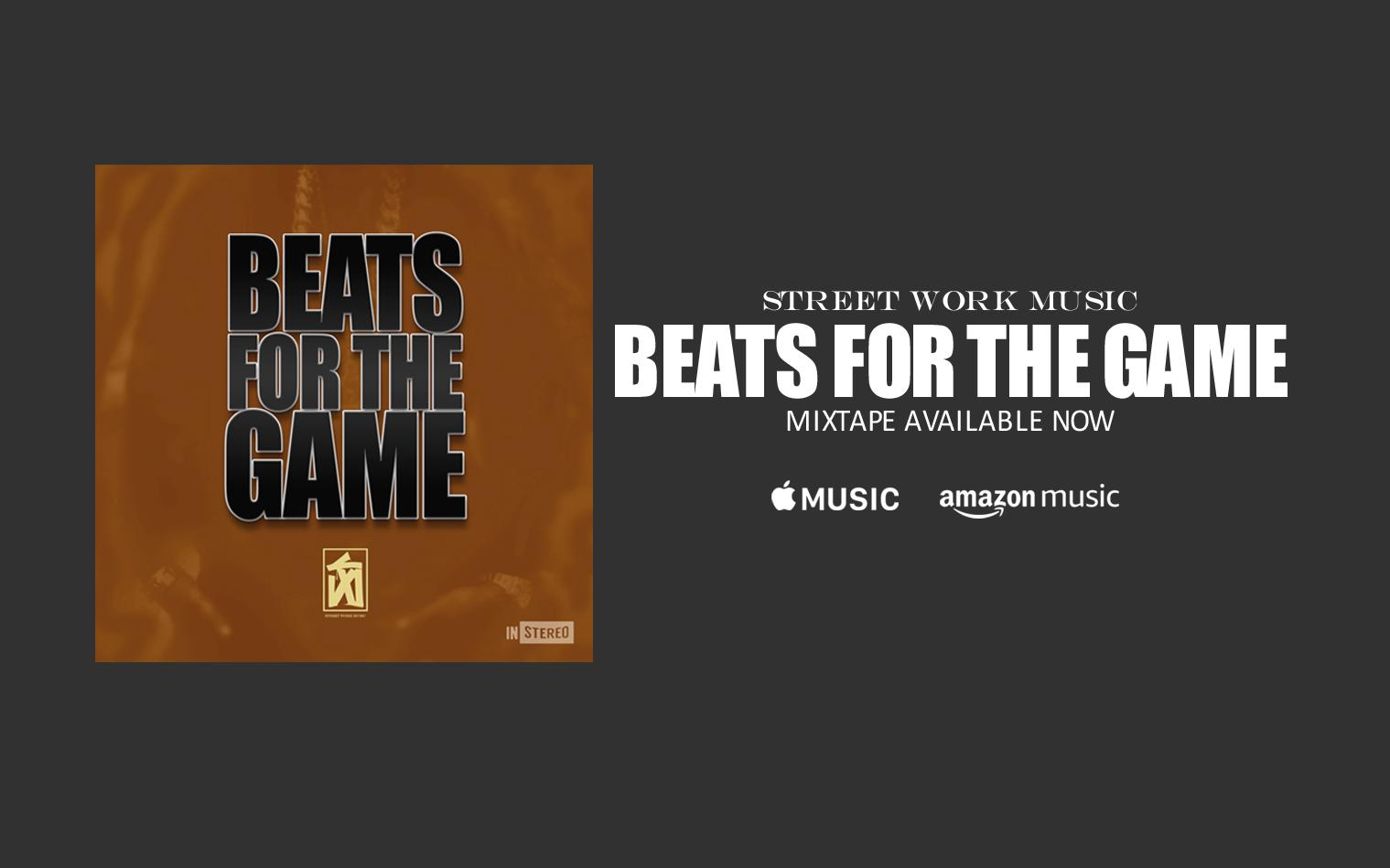 BEATS FOR THE GAME MIXTAPE AVAILABLE WORLDWIDE DECEMBER 25, 2020