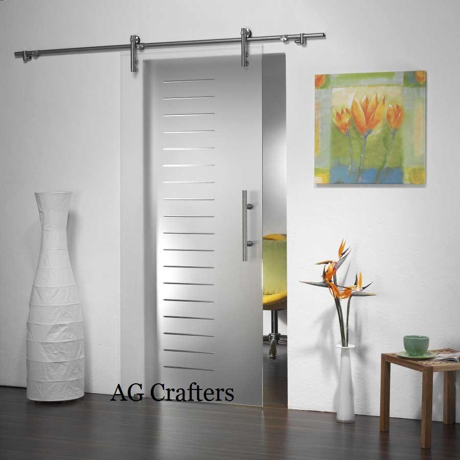 Frameless glass interior doors - Frameless Glass Interior Doors