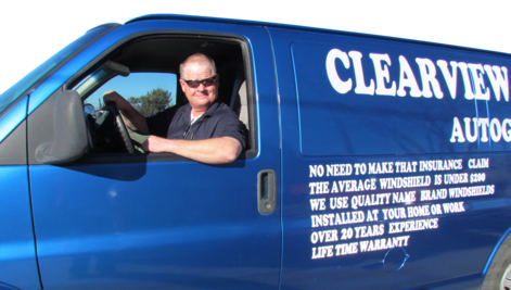 Owner Clearview Autoglass Locally owned and operated
